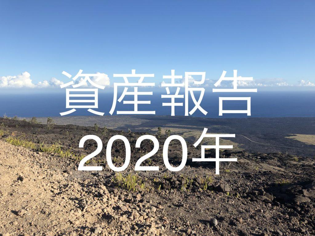 【2020年振り返り】資産報告|2020年12月